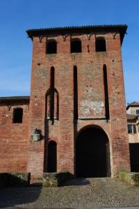 Castello del XV sec.a Scaldasole