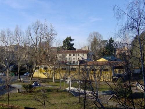 Legnano - Fine della corsa:veduta di Legnano da casa mia.....