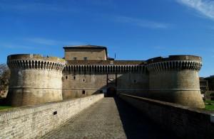 Rocca Roveresca l'ingresso