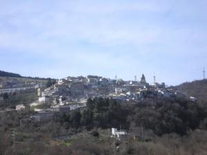 Panorama di Alberona.