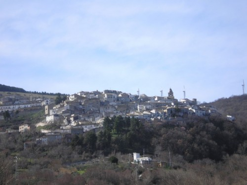 Alberona - Panorama di Alberona.