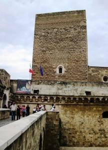 Entrata al Castello Svevo