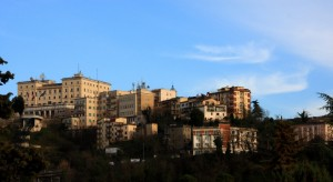 Frosinone vista da Via A. Moro….
