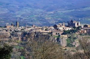 Panoramica su Orvieto