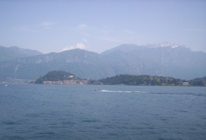La bella Bellagio dal lago