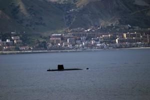 Scaletta con sottomarino