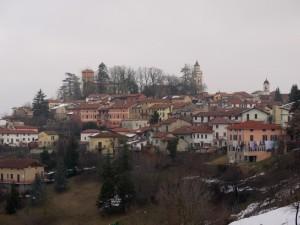 sulla collina del Monferrato Ovadese…..