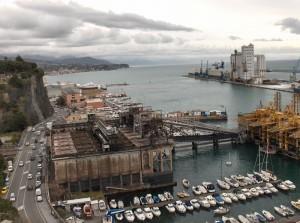 ingresso del porto