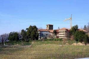 il castello in restauro
