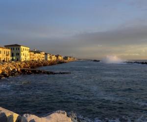 La melodia delle onde a Marina di Pisa