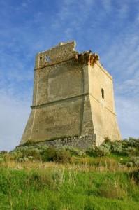Visione angolare Torre di Manfria