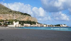 La spiaggetta di Mondello