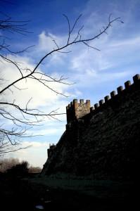 Le mura a nord