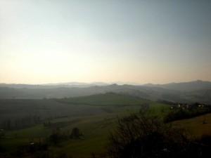 panorama di Cunico e dintorni
