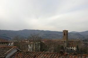 I tetti del borgo di Poppi