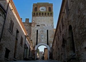 Gradara  ingresso al castello