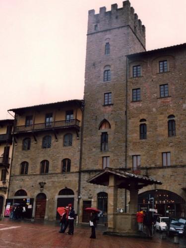 Arezzo - Una torre
