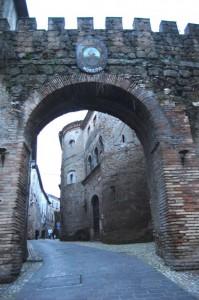 gli accessi di Otricoli, 2- dalla parte esterna-