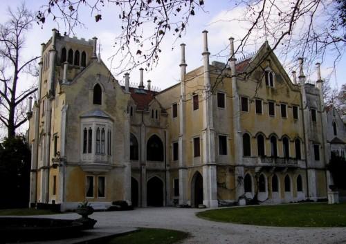 San Polo di Piave - Anche il retro del castello fa la sua figura