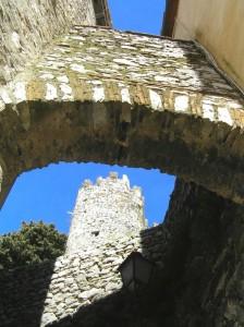 passaggio per la torre del castello