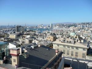 Genova ripresa da Palazzo Rosso