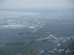 Il Golfo con la città egli impianti del polo petrolchimico