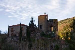 luci ed ombre sui resti del Castello di Sinagra