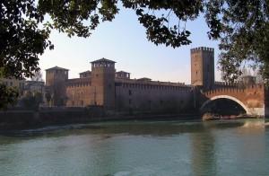 Il castello di Cangrande II della Scala