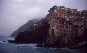 Tempesta a Riomaggiore
