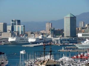 Genova il porto il Matitone