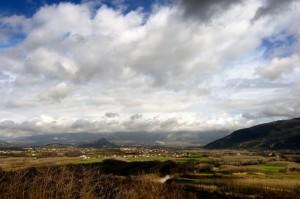 Panorama da Sant'Ambrogio sul Garigliano I