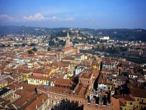 Verona vista dalla torre
