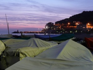 Recco (GE) by night
