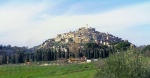 dal convento di san Francesco
