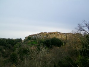 Panorama a Farnese