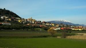 Cavaion borgo di collina