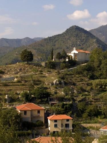 Castelvecchio di Rocca Barbena - Panorama di Castelvecchio R.B.