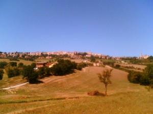 Panorama di Camerino