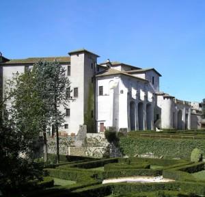 il castello Theodoli e il suo parco