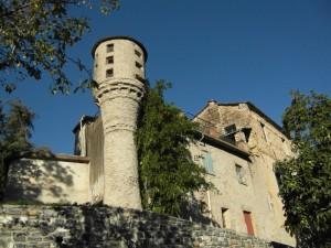 il castello di Pornassio…….