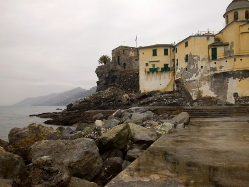 Camogli - Castello e chiesa
