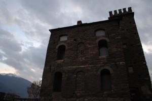 l'altro lato della torre del lebbroso