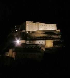 Il forte ddi Bard by night