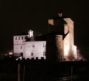 Sarriod de la Tour by night
