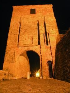 Novilara, la porta del castello