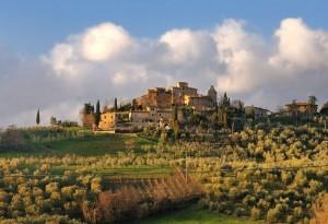 La bellissima campagna toscana - Tignano 3