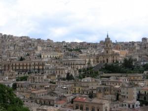 Modica - vista su San Giorgio (3)