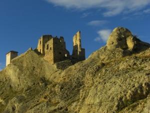 Il castello di Brindisi di Montagna