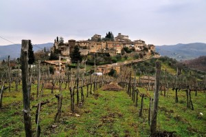 La bellissima campagna toscana - Montefioralle