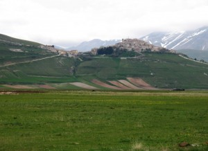 Panorama di Castelluccio